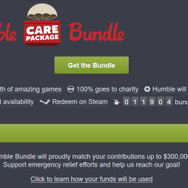 Humble特別バンドル「Humble Care Package Bundle」開始―合計385ドル相当の人気ゲームが勢揃い!